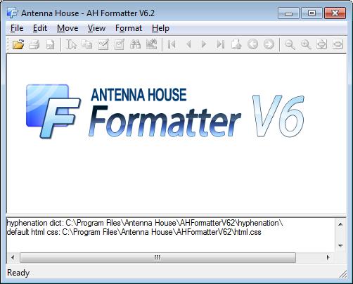 AH Formatter GUI with splash screen.